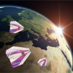 BREAKING NEWS: Samsung fly paper airplane from Germany to Australia…